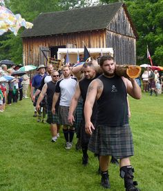 Highland Games kilt....we need to go to this one day Jess
