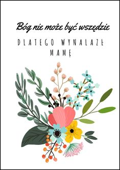 Plakat z okazji Dnia Matki :)