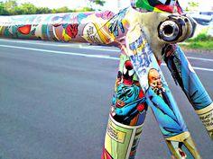 Comic Bike ... awesome!