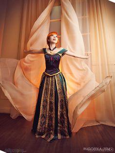 Princess Anna, Frozen, by Nastarelie, photo by Pugoffka-sama.
