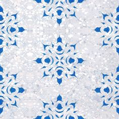 Detail: Spatter Mandala Wallpaper - Dering Hall