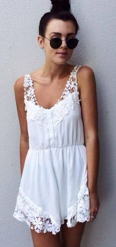 ROMPER: http://www.glamzelle.com/collections/bottoms-rompers-playsuits/products/chic-pure-angel-white-laces-playsuit