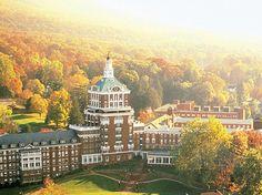 Homestead Resort Virginia - for a peaceful, easy feeling.  Beautiful!