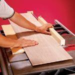 Versatile Panel-Cutting Sled