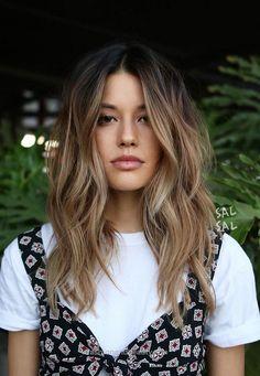 Trendige Frisuren für langes Haar 2018