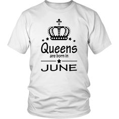 9be998d8 24 Best Queens Are Born In April T-Shirt images   Born in april ...