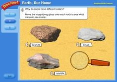 11 INTERACTIVE ONLINE ROCKS and MINERALS RESOURCES~  Check out these 11 websites where kids can explore, play, and learn all about rocks and minerals!