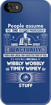 Timey Wimey? I assume The Doctor knows what he's talking about.