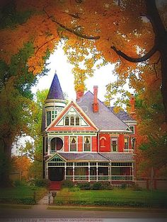 2009-10-17 2122 Victorian House Wabash College - campus & architecture Crawfordsville Indiana by Badger 23,