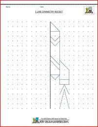 Image Result For Maths Worksheets For Grade 3 Symmetry