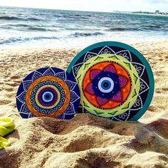 from @mandalaia_ -  Mandalaia foi para praia   www.facebook.com.br/mandalaiaa     #mandalaia #mandala #mandalas #porto #oporto #oportocool #followporto #decoracao #espanha #visitporto #pilates #portugal #lisboa #decoração #invicta #p3top #posca #praia #nature #mar #portugalcomefeitos #design #decoração #oquetemjp #naparaibatem #joaopessoa #joãopessoa #meguiajp