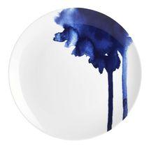 White and blue. Table at the sea side assiette à dessert keiu habitat Pottery Painting, Ceramic Painting, Ceramic Art, Glazes For Pottery, Ceramic Pottery, Assiette Design, Deco Paris, Color Me Mine, Pottery Techniques