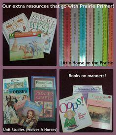 Curriculum using prairie primer with freebie homeschooling links