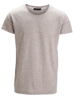West ss o-neck ID, Grey