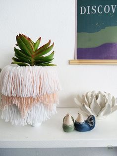 How to make a fringed planter - Ohoh Blog