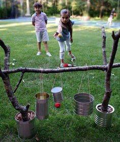 5 Juegos Infantiles Caseros Al Aire Libre Vida Scout Pinterest