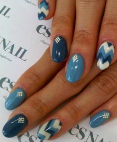 Like the fingers with the diamonds, not as impressed with the geometric stripes.