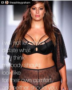 I love @theashleygraham!! Love this post! Love your message. So gorgeous!! Love this reminder to love ourselves as we are!! Embody that!! 🔥🔥💜💜