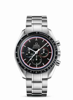 Speedmaster Professional Moonwatch... The watch the assisted with the Lunar module landing on the moon.
