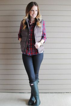 eb266e42cdc Lauren Elizabeth  puffer vest to the rescue - love her blog   I might just