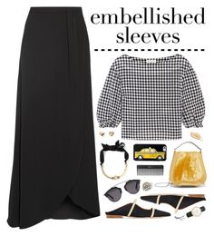 """Embellished Sleeves No. 1"" by almost-glamorous ❤ liked on Polyvore featuring Theory, Malone Souliers, Lanvin, Eddie Borgo, Sonia Rykiel, Christian Dior, TAXI, Sephora Collection, BaubleBar and Daniel Wellington"