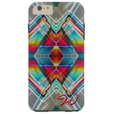 Abstract Art 152 Tough iPhone 6 Plus Case