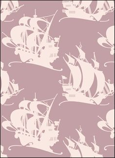 Click to see the actual VN84 - Galleons stencil design.