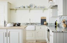 Artisan range John Lewis of Hungerford with Quartz worktops