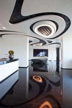 Futuristic home interior inspiration by ConfidentLiving