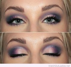 45 Purple Natural Looking Makeup For Green Eyes For New Years Party – Watch out Ladies