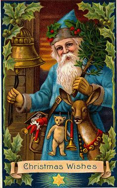 vintage santa claus painting  | images of santa claus vintage 388 free wallpapers desktop hd wallpaper