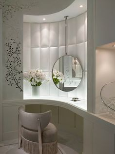 vanity table, modern, contemporary vanity, vanity idea, make up table.