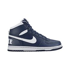 949d9d6af880 Nike Mens Big High Basketball Shoe Midnight NavyWhite 9 ** More info could  be found