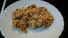 Fogyókúrás császármorzsa hozzávalók: 10 dkg túró 1 ek zabkorpa 1 ek nyírfacukor 1 tojás reszelt citromhéj, vaníliakivonat Összekeverjük a fogyókúrás császármorzsa hozzávalóit egy tálban és [...] Grains, Rice, Cookies, Food, Crack Crackers, Biscuits, Essen, Meals, Cookie Recipes