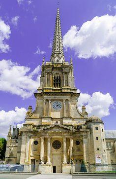 Cathédrale Notre Dame de lAssomption de Luçon . Vendée. Pays-de-la-Loire