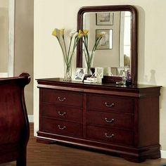 Furniture of America Louis Philippe II Dresser Las Vegas Furniture Online | LasVegasFurnitureOnline | Lasvegasfurnitureonline.com