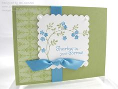 Simple & Sincere: More Stamp-a-Stack Cards