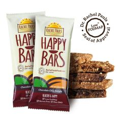 Low-FODMAP Brands - Rachel Pauls Food has four different delicious bars! Low Carb Protein Bars, Food Map, Benefits Of Organic Food, Fodmap Recipes, Sugar Free Chocolate, Low Fodmap, Fodmap Diet, Organic Recipes, Healthy Dinner Recipes