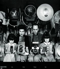 Philippe Halsman: Family Portrait, 1950