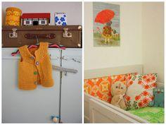 Retro og fargerikt barnerom  Retro and colorful kids' room