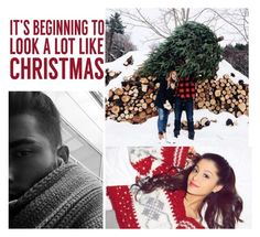 """""""Getting a Christmas Tree with my Baby- Toni"""" by loveemestill ❤ liked on Polyvore featuring Sixtrees"""