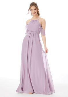 *Mori Lee, 13107, Size 6, French Lilac, $146. Available at Debra's Bridal Jacksonville, FL 32256 Contact us to make an Apt. (904) 519 9900 Designer Bridesmaid Dresses, Bridesmaid Dress Styles, Bridal Wedding Dresses, Dream Wedding Dresses, Bridesmaids, Bridal Outfits, Mori Lee Bridal, Girls Dresses, Flower Girl Dresses