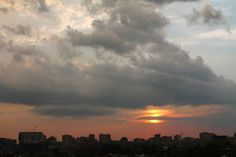 Distorted Sunset by Tom Ipri, via Flickr
