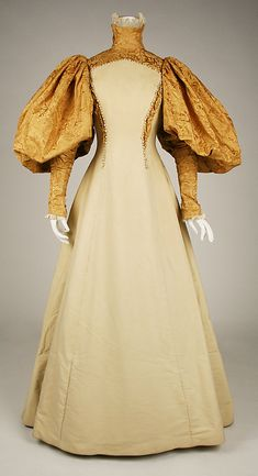 House of Worth Bridesmaid Gown, circa 1896                                                                                                                                                                                 More