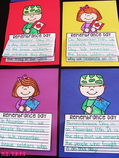 Remembrance Day writing activities that are great no prep crafts - Canadian and Australian flags and also no flag options! Kids Writing, Writing Activities, Craft Activities, Teaching Writing, Writing Ideas, Remembrance Day Activities, Remembrance Day Art, Primary Teaching, Teaching Kindergarten