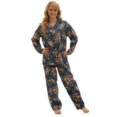 fb0625ff2d448 Women s Long Sleeve Cotton Pajama Set
