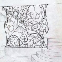 Serega Plus Кованое Железо, Гобелен, Домашний Декор, Искусство
