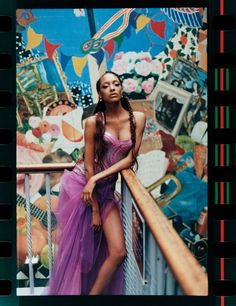 "Vogue UK October 2012 ""Gowns of Brixton"" Feat. Jourdan Dunn by Tyrone Lebon"