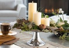 Create a beautiful centerpiece using treasures from nature in 3 easy steps with tips from #Biltmore's experts. www.biltmore.com