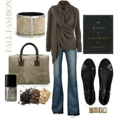 ░ Fall Fashion ░ Love this look, but I think I have too much boob or all that wrapping. #ReadyForFall